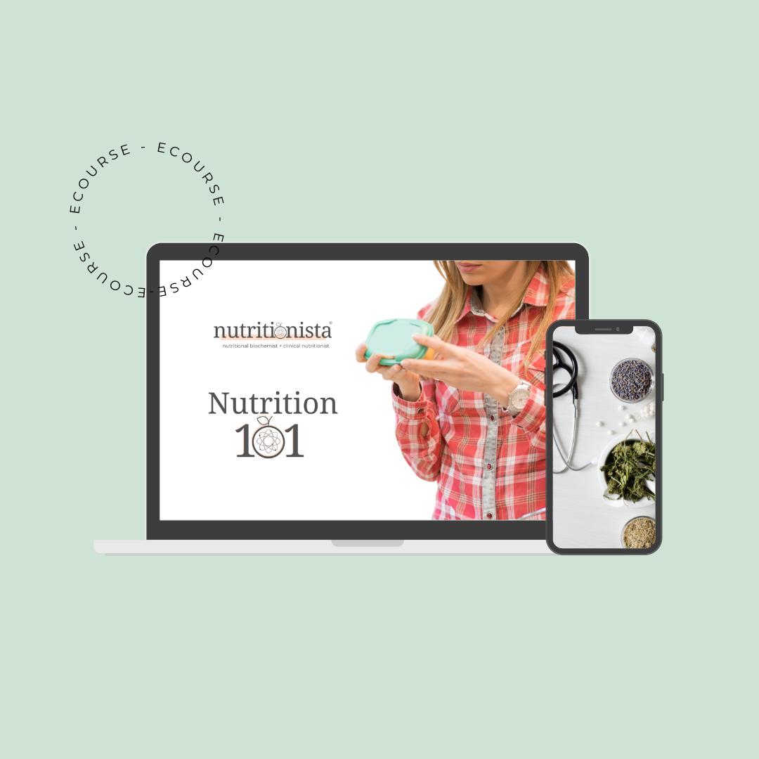 Nutrition 101 eCourse