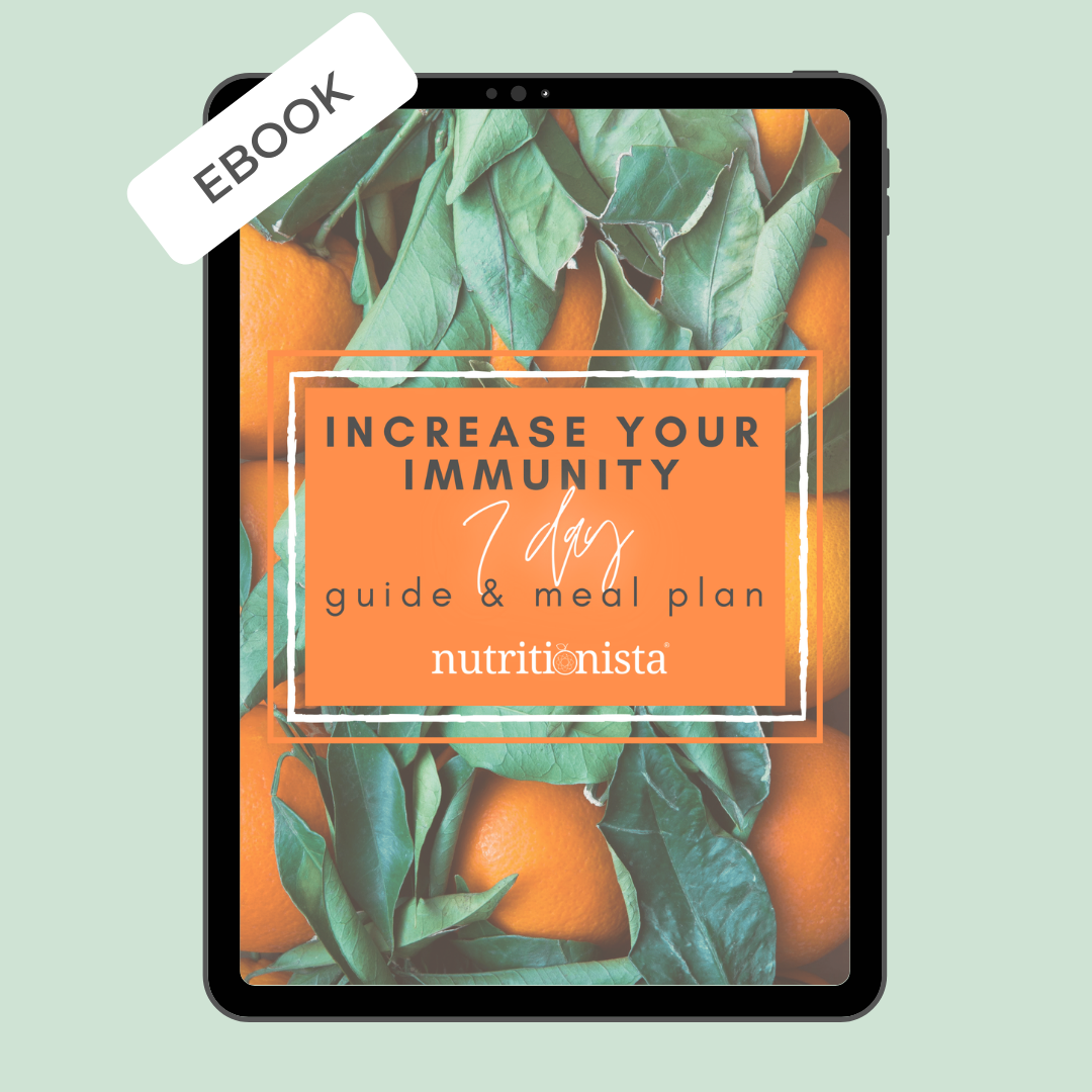 Increase Your Immunity Guide + 7 Day Meal Plan