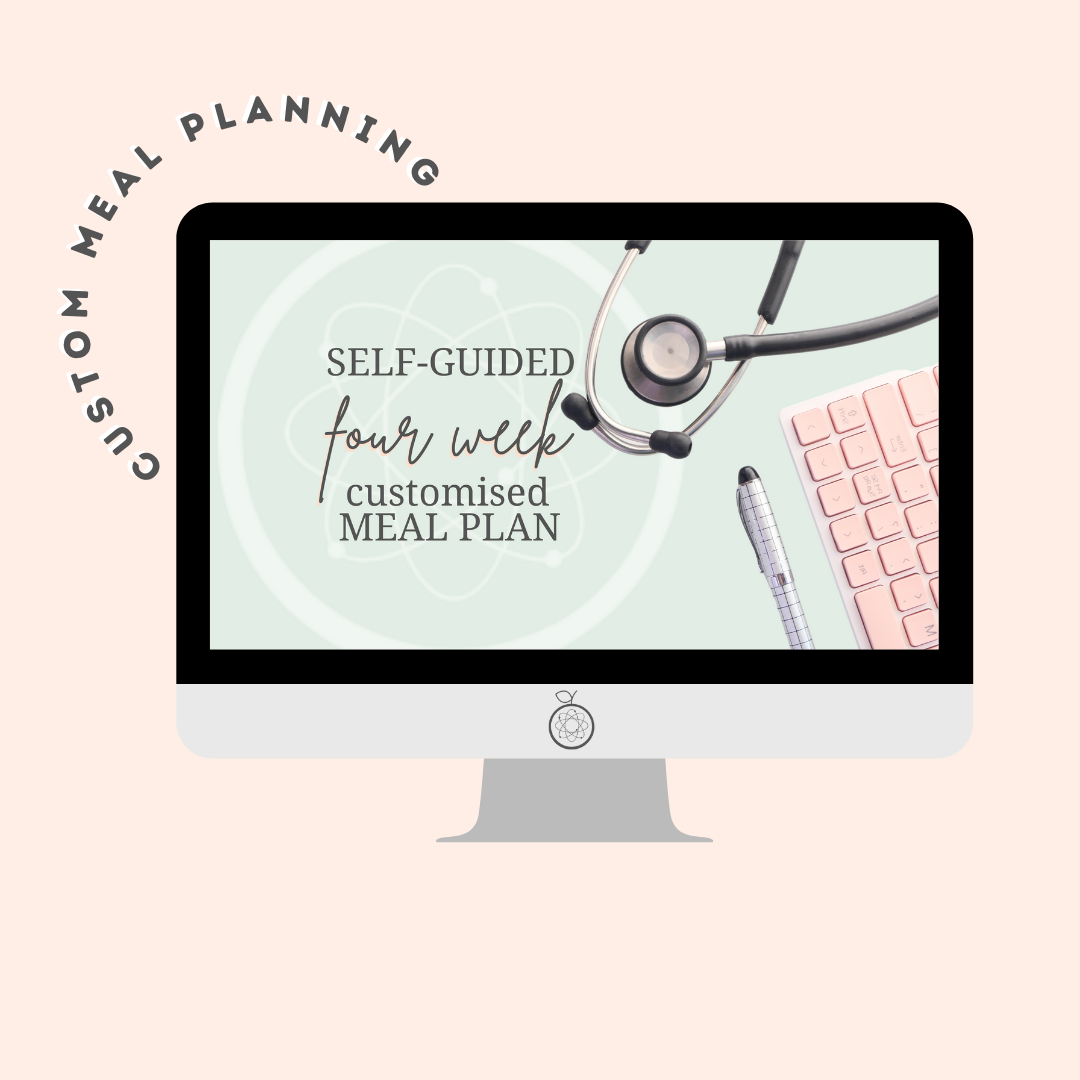 Self-Guided Nutrition Overhaul – 4wk Meal Plan