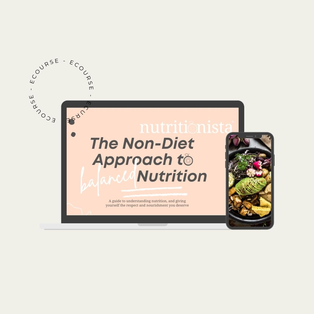 The Non-Diet Approach to Balanced Nutrition